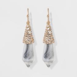 baublebar earrings stone
