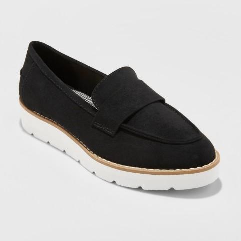 Target Black Loafers